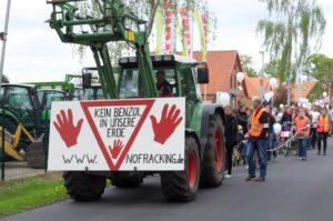 """""""No Fracking"""" Demo in Völkersen"""