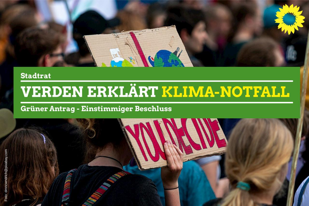 Verden erklärt Klima-Notfall