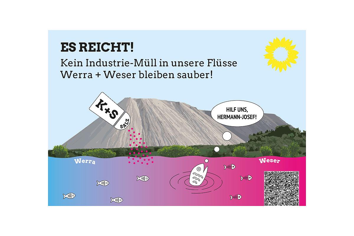 Weser und Werra jetzt vor Kali & Salz schützten
