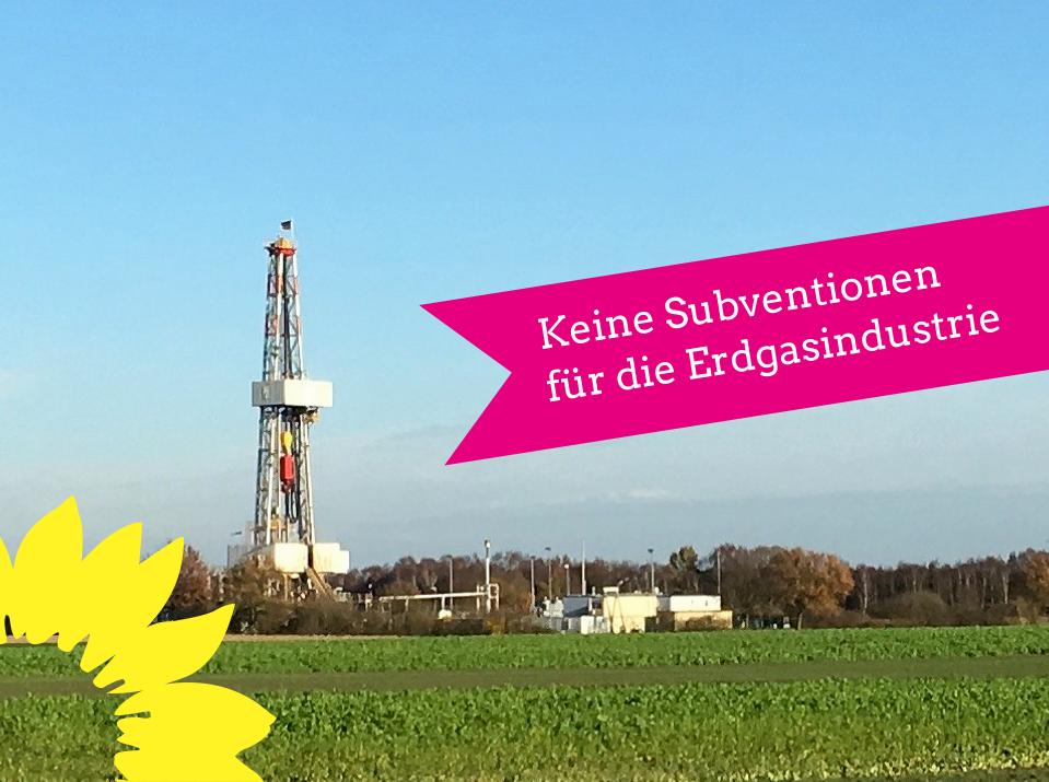 Nds. Regierungskoalition: Riesengeschenk an die Erdgasindustrie?