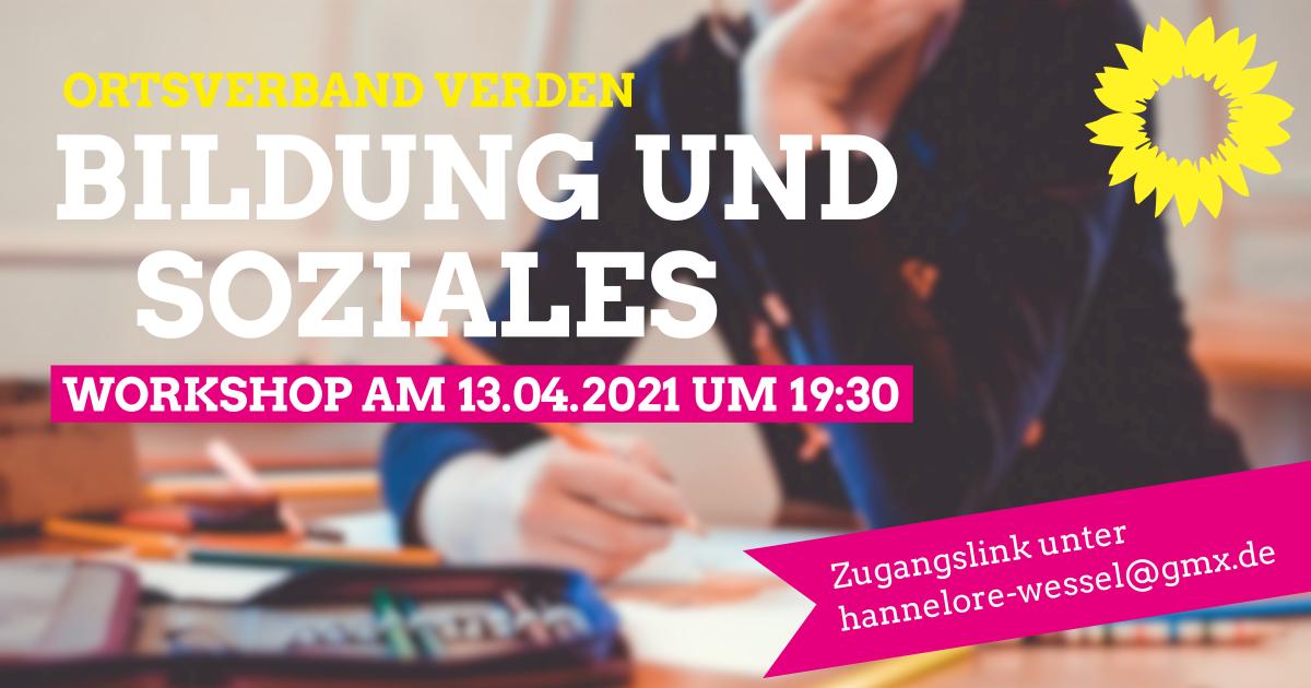 Workshop: Bildung und Soziales