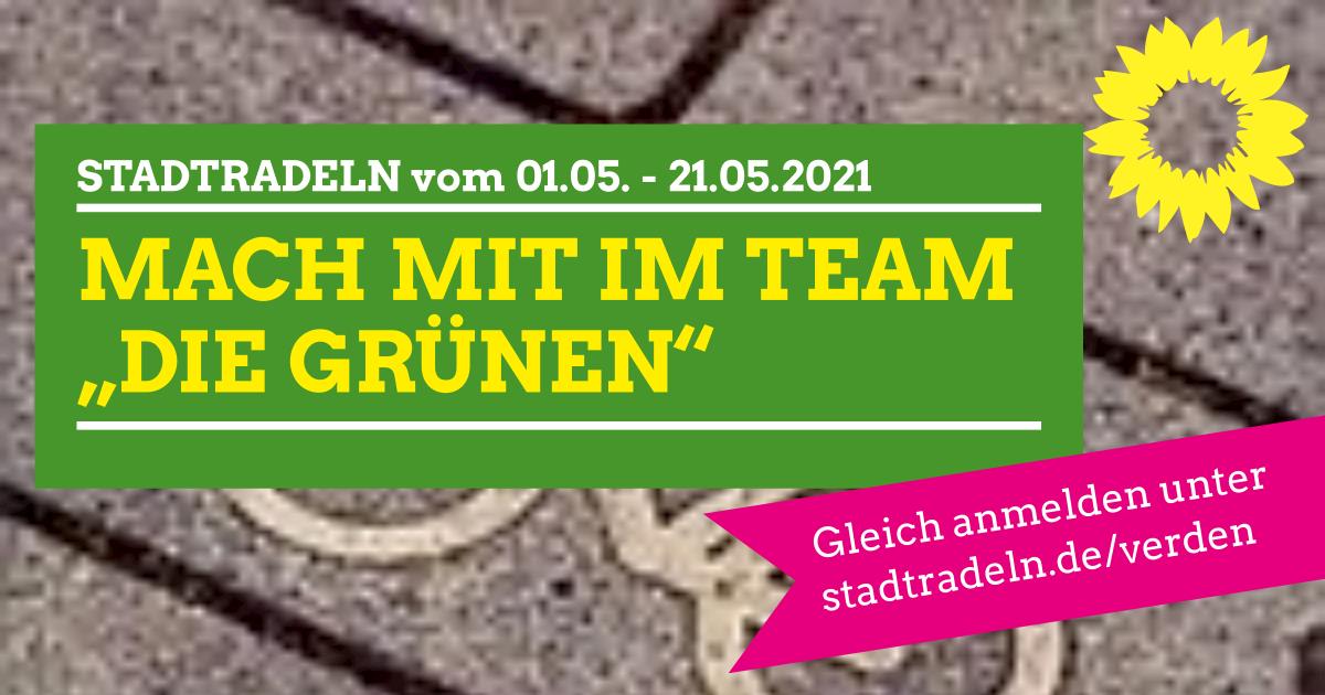 "STADTRADELN Verden: Team ""DIE GRÜNEN"""